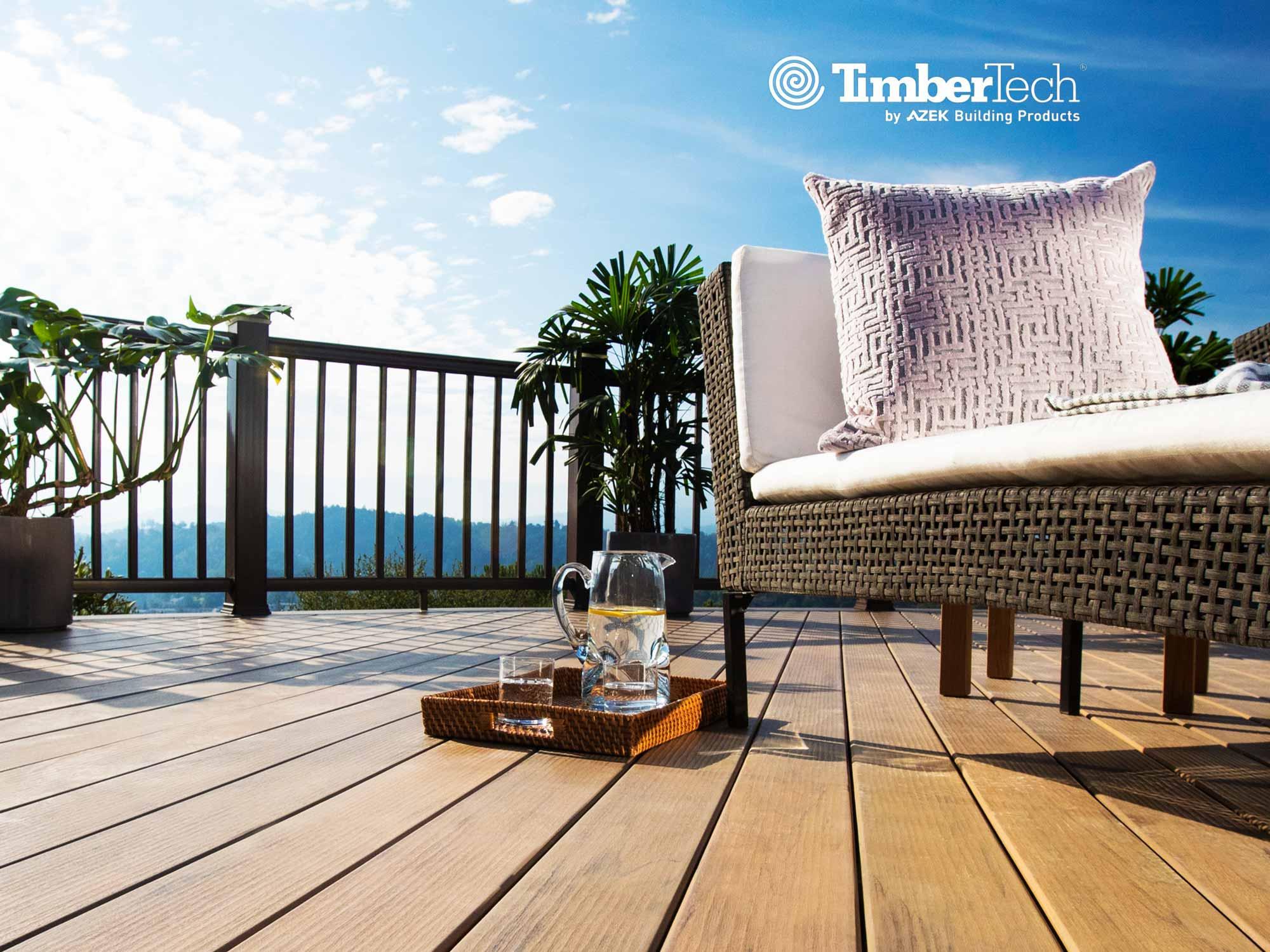 Nos nouvelles lames de terrasse composite Timbertech